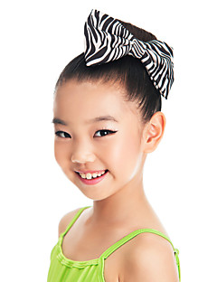 Dance Accessories Headpieces Children's Training Satin Bow(s) Zebra Performance Spring, Fall, Winter, Summer