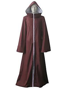 Inspirerad av Naruto Cosplay Animé Cosplay Kostymer/Dräkter cosplay Suits Lappverk Brun Lång ärm Kappa