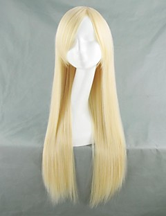 Cosplay Wigs Fullmetal Alchemist Winry Golden Long Anime Cosplay Wigs 80 CM Heat Resistant Fiber Female