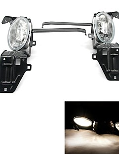 Tirol Fog Light kit 55W 9006 OEM Replacement for Honda Accord 2008-On Front Bumper Lamps Pair