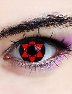 naruto sasuke uchiha hexagram sharingan cosplay contactlenzen (1 paar)