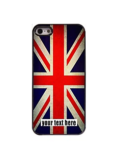 Personalized Case The Union Jack Design Metal Case for iPhone 5/5S