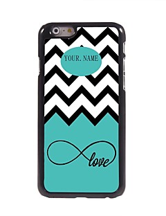 """personalizado onda do mar e amor capa de metal para iphone 6 (4.7 """")"""