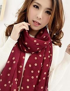 cachecol fashion chiffon de seda das mulheres Coway (cores sortidas)