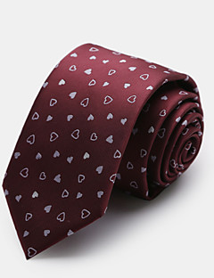 rood patroon stropdas