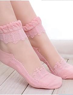 Frauen schnüren Perspektive Socken