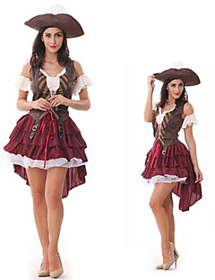 Sexy Pirate Dress Adult Halloween Women's Costume