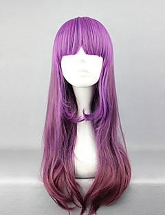 mcoser lolita pruik geïnspireerd door elegante gradiënt paarse 60cm prinses