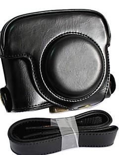 cuir dengpin® sac amovible couvercle de protection de cas d'appareil photo style avec bandoulière pour Canon Powershot G16