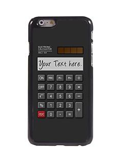 """calculadora presente caso personalizado design de metal para iphone 6 (4.7 """")"""