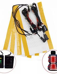 5-läges omkopplare kolfiber sätesvärmare kit för Toyota Prado corolla rav4 Reiz yaris etc (två säte installation)