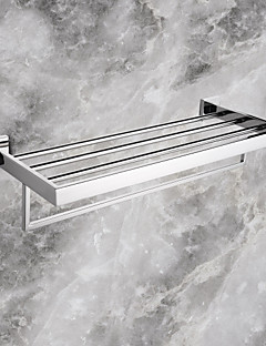Towel Bar Stainless Steel Wall Mounted 60*22.05*12.25cm(23.62*8.68*4.82inch) Stainless Steel Contemporary