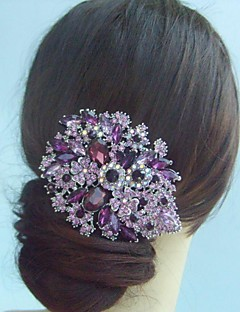 Women's Alloy Rhinestone Hair Comb,Vintage Party Casual All Seasons