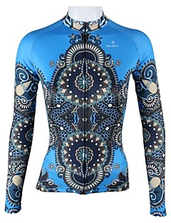 PALADIN® Cycling Jersey Women's Long Sleeve Bike Breathable / Quick Dry Jersey / Tops 100% Polyester Stripe / FashionSpring / Summer /