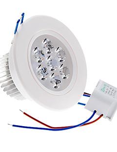 Plafonniers Blanc Chaud 7 W 7 LED Haute Puissance 490 LM 3000 K AC 100-240 V