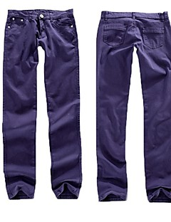 Inspired by No Game No Life Cosplay Anime Cosplay Costumes Cosplay Tops/Bottoms Solid Purple Pants
