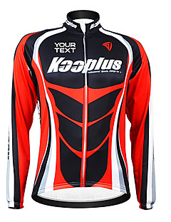 KOOPLUS® Cycling Jacket Women's / Men's / Unisex Long Sleeve BikeBreathable / Thermal / Warm / Windproof / Fleece Lining / Waterproof