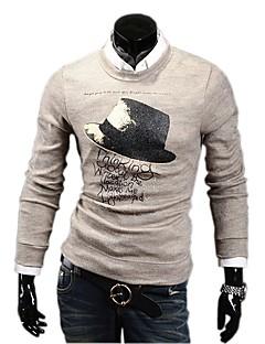jovea Männer Normallack Spiel ausgestattet Pullover