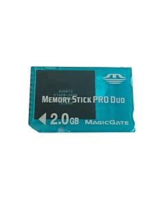 2gb memoria ms pro duo almacenamiento de la tarjeta para sony psp 1000/2000/3000 consola