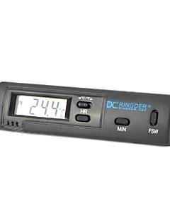 carro com ar condicionado ventilação termômetro digital