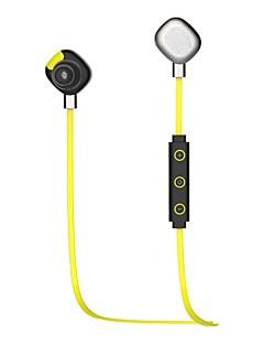 האפליקציה bluetoothv4.1 אוזניות Bluetooth מוסיקת ספורט החכמה U5 morul&אוזניות-ירוק Hi-Fi Bluetooth NFC
