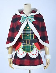 라이브 사랑 해요! 학교 아이돌 축제 SR 카드 kotori 미나미 코스프레 크리스마스 의상