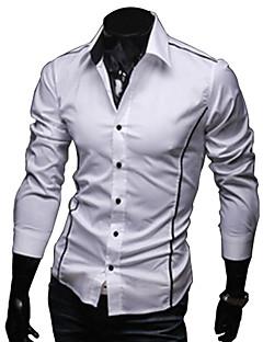 Ruhm Hemd Kragen Langarm Lässige angepasstes Hemd
