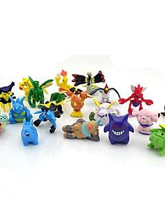 pokemon 24pcs 2-3cm mini PVC Action Figure set (colori casuali)