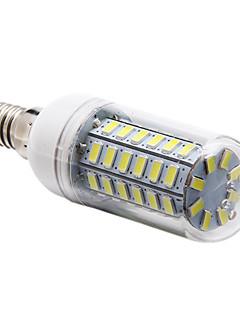 E14 12 W 56 SMD 5730 1200 LM Natural White Corn Bulbs AC 220-240 V