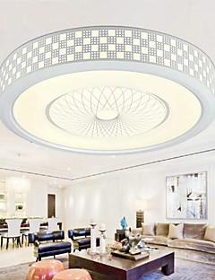 Creative Arts Round LED Ceiling Light 110-240V