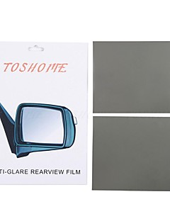 "TOSHOME Anti-glare Film for Outside Rearview Mirrors DIY Series(7.87""*5.9""*2pcs)"