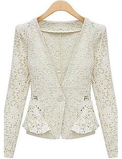 weimeijia® női hajtókáján nyak minden illő vászon kabátot