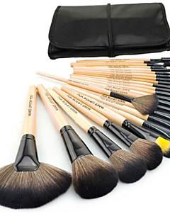 24 Set di pennelli Pennello di nylon Viso / Labbro / Occhi Altro