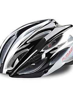 FJQXZ 23 Vents EPS+PC Black Integrally-molded Cycling Helmet(58-63CM)