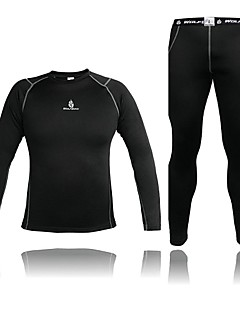 WOLFBIKE® Cycling Jersey with Tights Men's Long Sleeve Bike Thermal / Warm / CompressionCompression Clothing / Jersey +