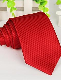 rot polyster langen Streifen Männer binden 145 * 8cm