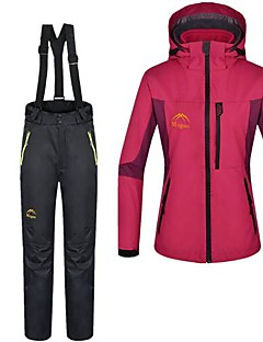 Outdoor Women's Clothing Sets/Suits / Pants / 3-in-1 Jackets / Woman's Jacket / Winter Jacket Skiing / Camping & HikingWaterproof /