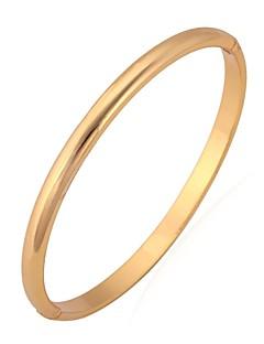 Dames Bangles Armband Modieus Platina Verguld Verguld Zilver Gouden Sieraden VoorBruiloft Feest Speciale gelegenheden  Verjaardag