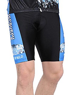 WOLFBIKE® לגברים ריצה מכנסיים קצרים מכנסיים תחתיות נושם ייבוש מהיר 3D לוח חומרים קלים קיץ רכיבה על אופניים/אופנייים פוליאסטרבגדי שטח