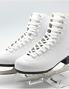 Skating Exceise Shoes PVC Leather Snow White -25C