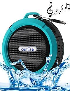 c6 mini bærbar IPX5 vanntett bad henge kroken trådløs bluetooth høyttaler støtter håndfrifunksjoner