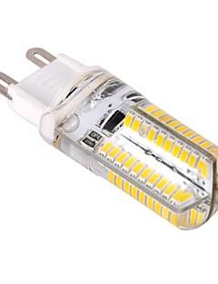 4W G9 LED-maissilamput T 80 SMD 3014 400 lm Lämmin valkoinen / Kylmä valkoinen Himmennettävä AC 220-240 V