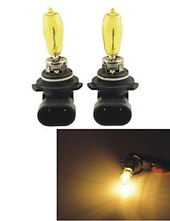 2pcs carking ™ Kobo 9005/9006 550lm 3000k auto luce gialla Fari alogeni (dc 12v)