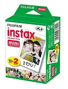 Fujifilm Instax mini øjeblikkelig hvide film-twin pack