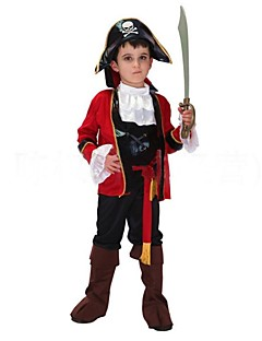 Cool Captain Pirate Kids Halloween Costume