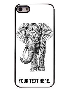 personalisierte Fall Elefantentwurf Metallkasten für iphone 5/5 s