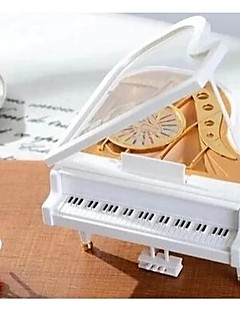 ballerine en plastique boîte à musique de piano