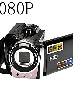 1080p cámara de vídeo digital hd completo kit de la cámara 16x zoom digital dv negro