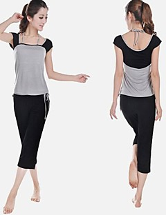 New Arrival Supper Soft Cotton Yoga Suits with Pants