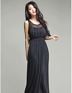 Ankle-length Silk Bridesmaid Dress Ball Gown Sweetheart with Sash / Ribbon